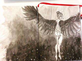 The angel (chimere est fleur) by Aleyn-Kidd