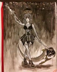 The dark angel (chimere est fleur) by Aleyn-Kidd