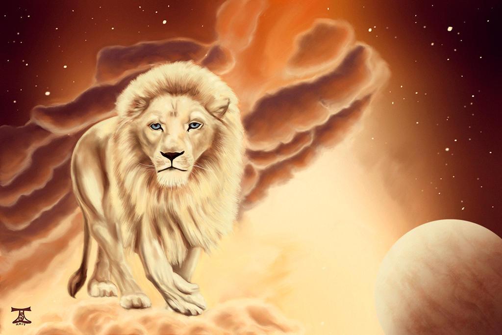White Lion by TaraSullivan