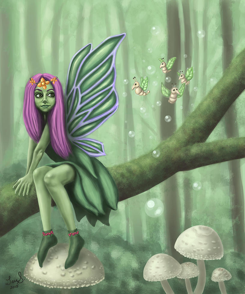 Wood Fairy by TaraSullivan