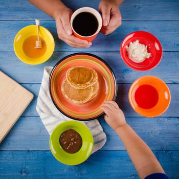 Rainbow Breakfast