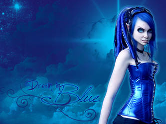 Dream in Blue by Disorder-Chaos