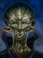 Jordu Schell 50s Alien copy by MonsterSaw