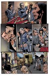 Dead West Antebellum: Rebel Run pg1 by MonsterSaw
