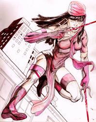 Elektra by MonsterSaw