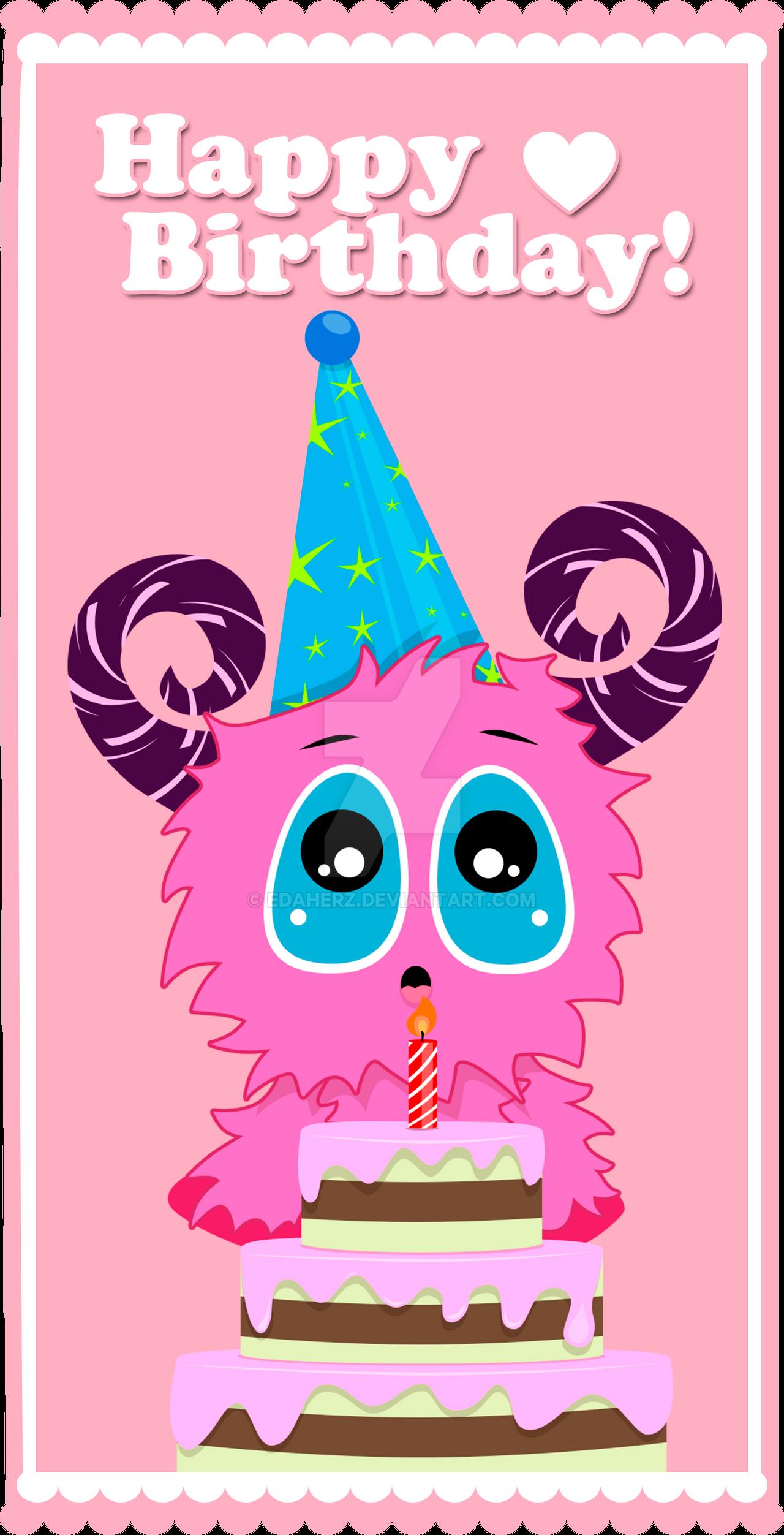 Happy Birthday Pink Cake Images