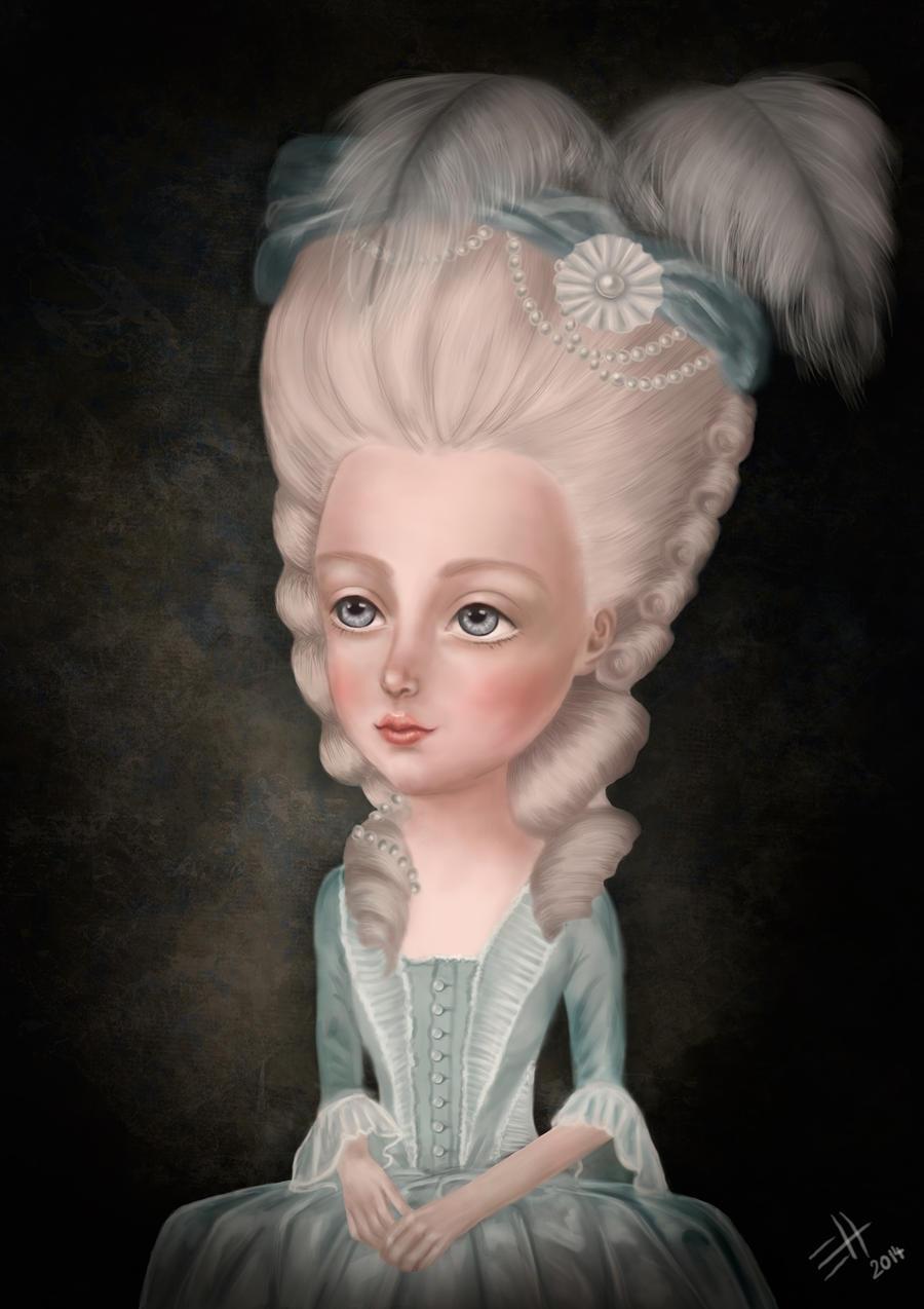 Marie Antoinette by EdaHerz