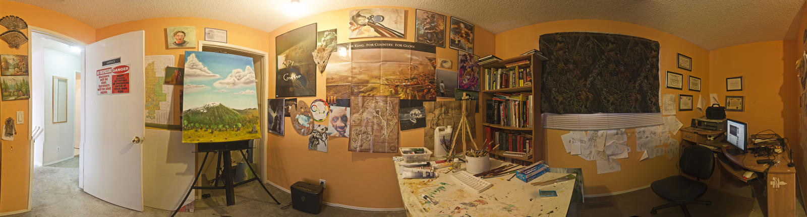 My Art Room. by Temporalvisions