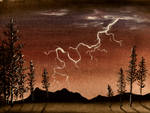 Lightning Strike by Temporalvisions