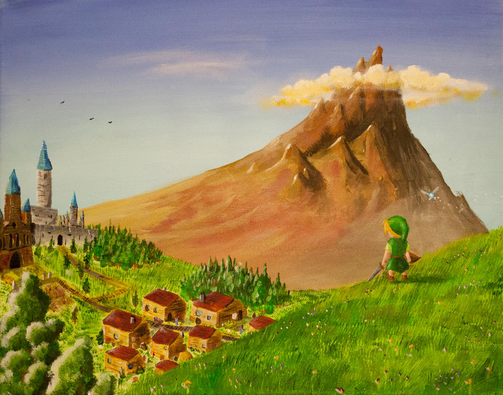 Overlooking Hyrule by Temporalvisions