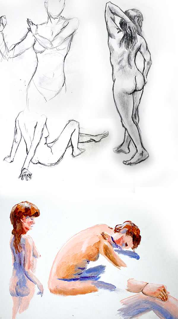 Life Drawings 01 by Temporalvisions