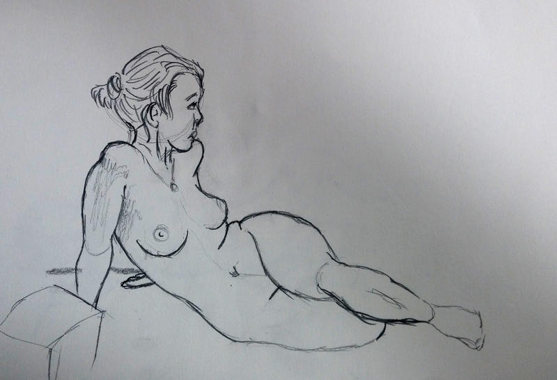 Life Drawing 01 by Temporalvisions