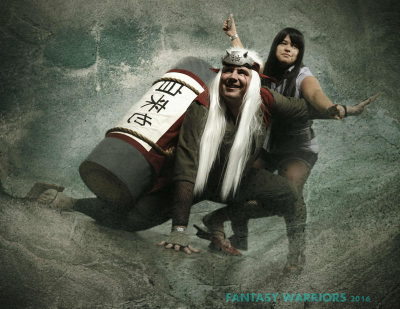 Jiraiya and Hinata Cosplay by Temporalvisions