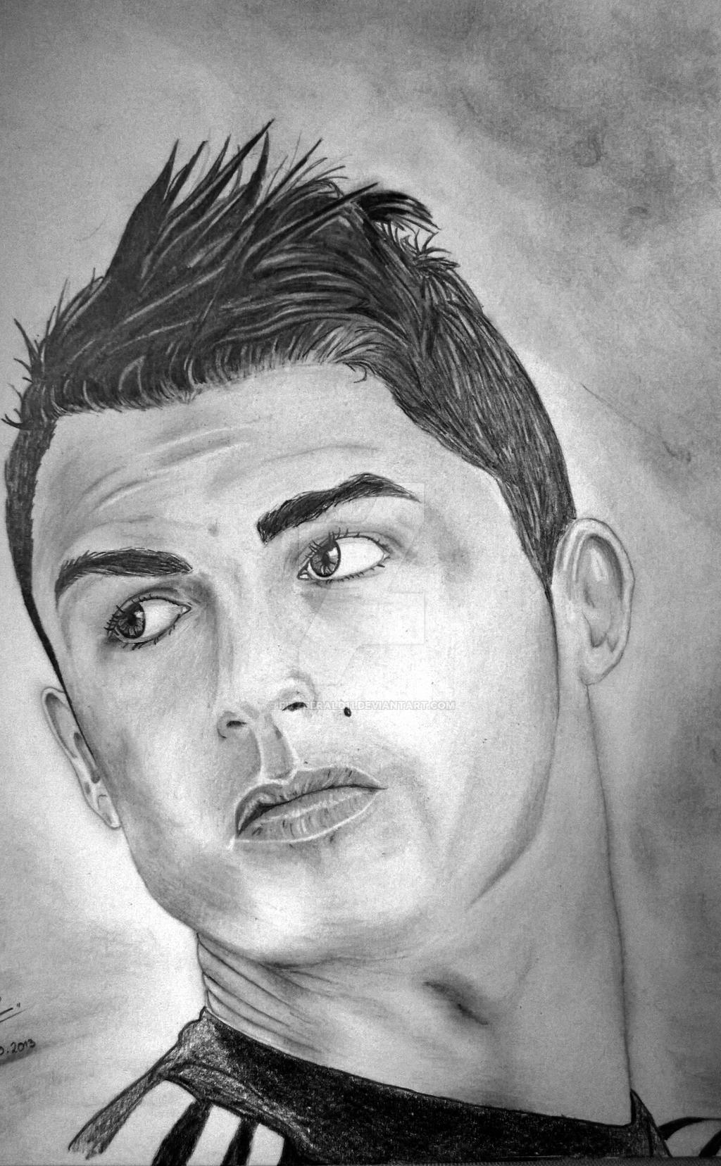 Cristiano Ronaldo by Fitzgerald11 on DeviantArt