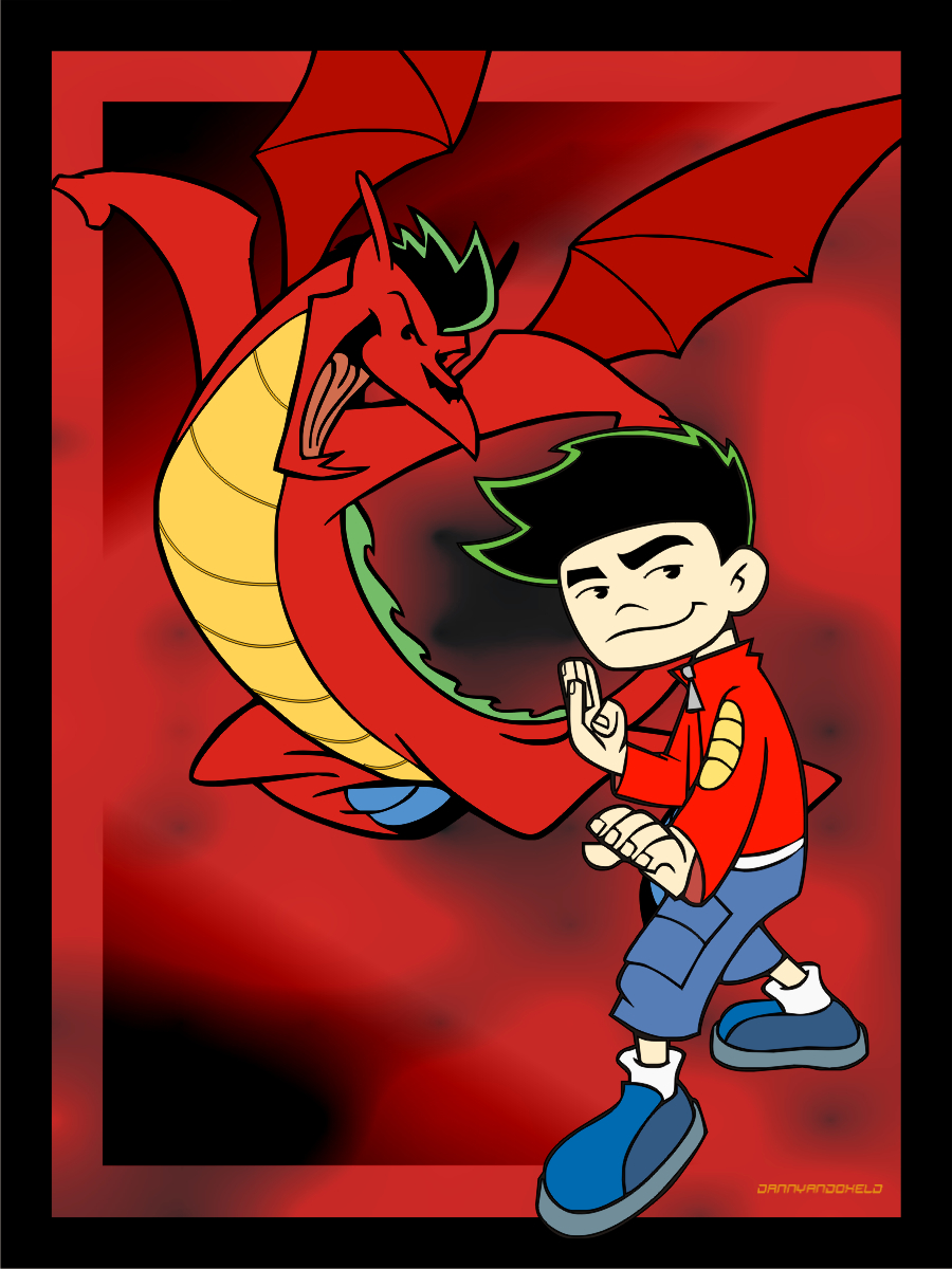 Jake Long Coloring Pages Gallery