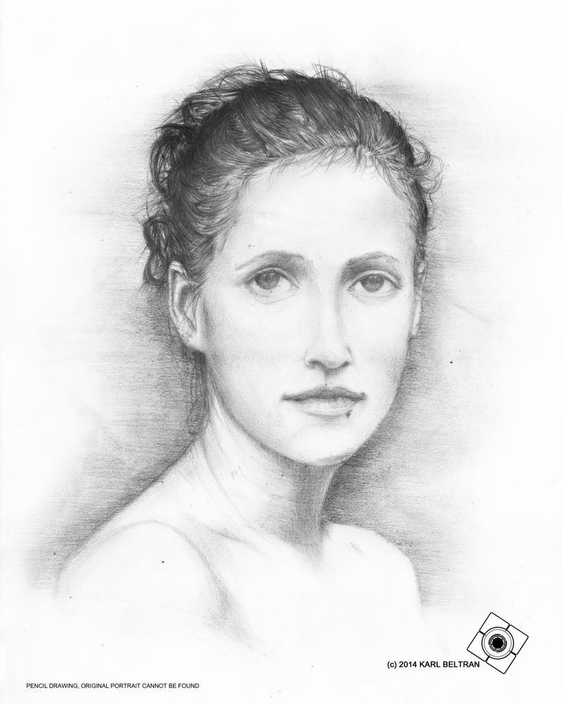Art 2014 Female Portrait by JupiterGrace