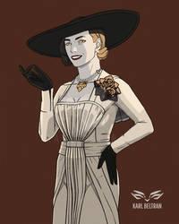 TALL VAMPIRE LADY   RE8 Lady Dimitrescu by JupiterGrace