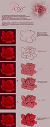 Tutorial painting rose -ITA- by ItalianTuts