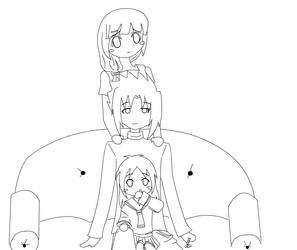 SasuHina-Happy Family-outline by Blackmoontiger