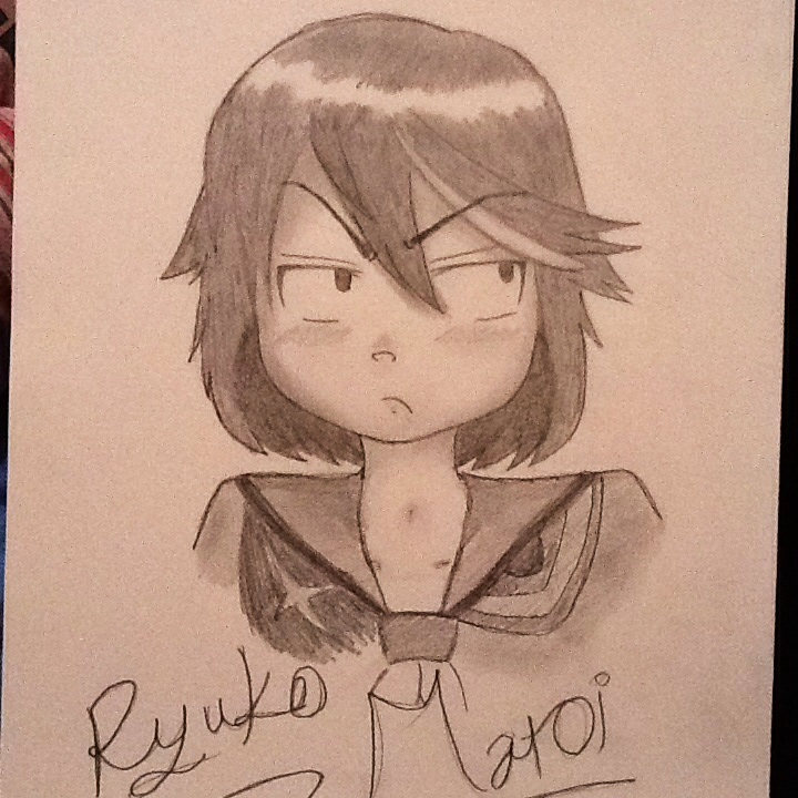Ryuko Matoi uvu by SmileyVizard