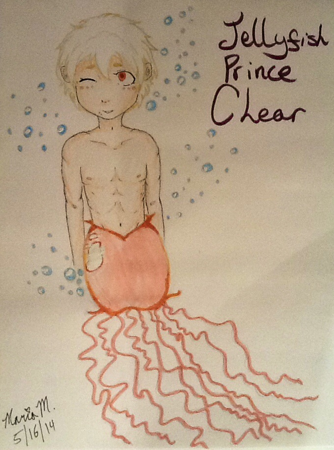 Jellyfish Prince Clear by SmileyVizard