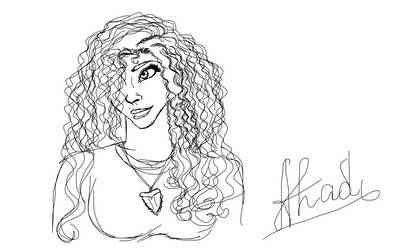 DJ88/Danielle sketch by AhadiLight