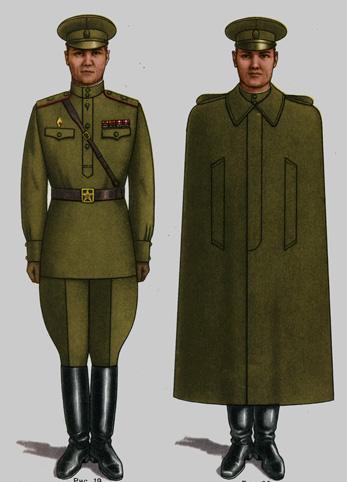 Soviet Army Uniforms 5 by Peterhoff3