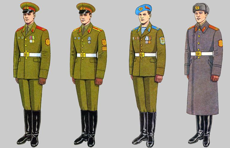 Soviet Army Uniforms 4...