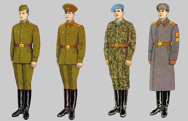 Soviet Army Uniforms 48 by Peterhoff3