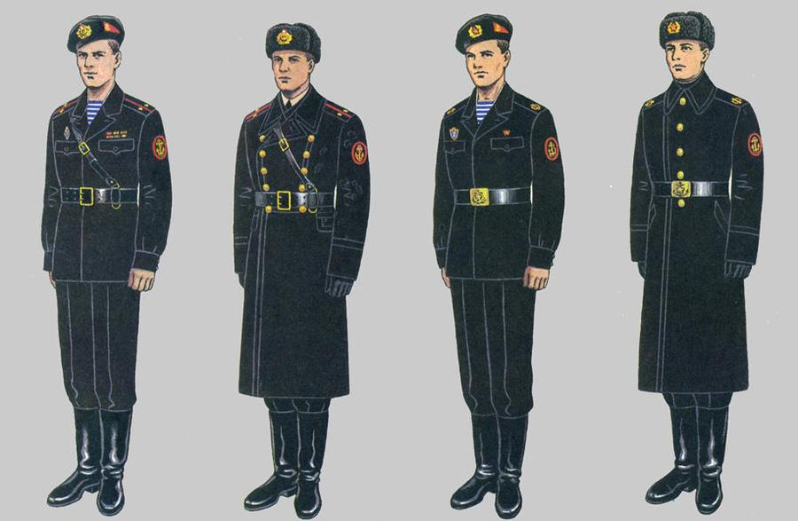 Navy Enlisted Uniforms The uniforms have naval