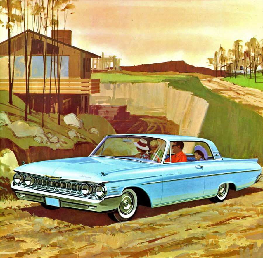 After the age of chrome and fins : 1961 Mercury by Peterhoff3