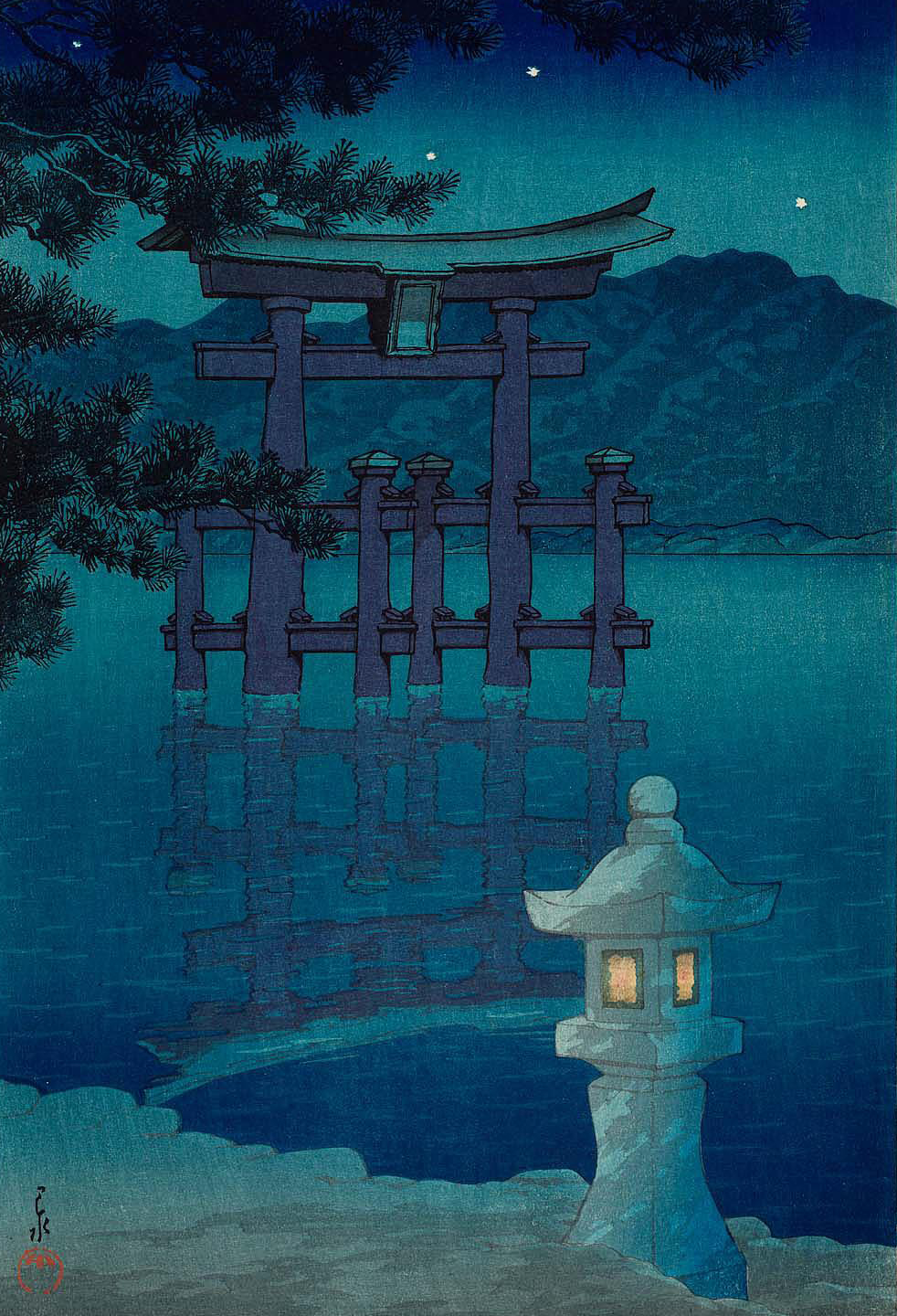 Water and Shadow: the prints of Kawase Hasui 36