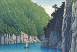 Water and Shadow: the prints of Kawase Hasui 39