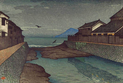 Water and Shadow: the prints of Kawase Hasui 112
