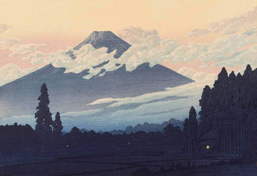 Water and Shadow: the prints of Kawase Hasui 117