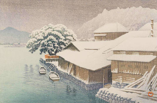 Water and Shadow: the prints of Kawase Hasui 134