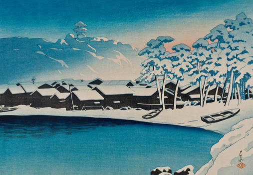 Water and Shadow: the prints of Kawase Hasui144