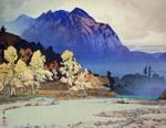 the prints of Hiroshi Yoshida 3