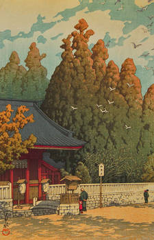Water and Shadow: the prints of Kawase Hasui168