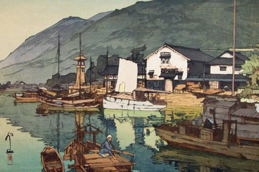 the Inland sea: the prints of Hiroshi Yoshida 29