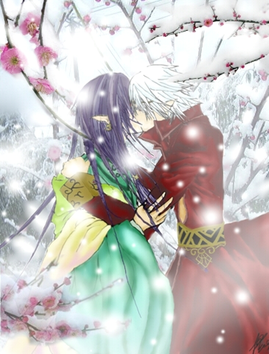 Half Prince GuixPrince kiss by Kiriyuu69
