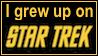 I grew up on Star Trek stamp by Star121
