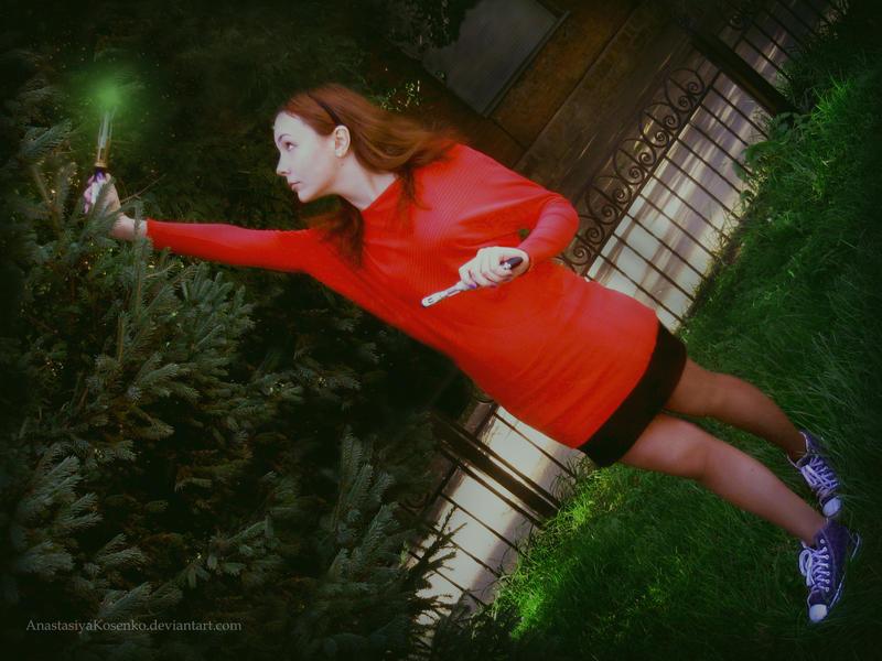 Amy Pond cosplay by AnastasiyaKosenko