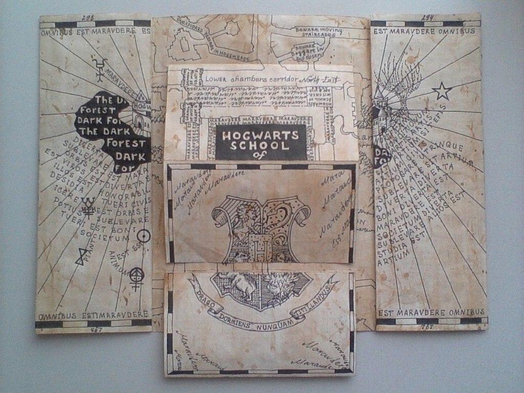 the marauders map by anastasiyakosenko