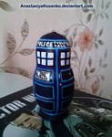 Matryoshka TARDIS - Doctor Who nesting doll