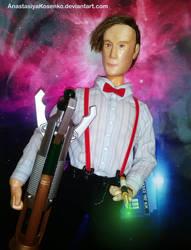 The Eleventh Doctor - BJD (With sonic screwdriver) by AnastasiyaKosenko