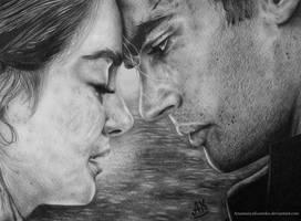 Divergent - Tris Prior and Four (Tobias Eaton)