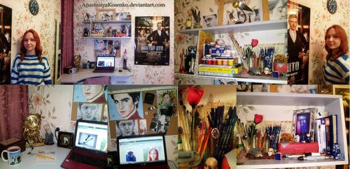 My workspace, my heart... by AnastasiyaKosenko