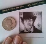 The Eleventh Doctor - Miniature portrait