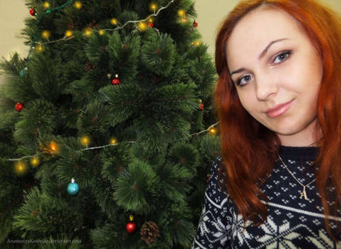 Amy Pond cosplay - Christmas special